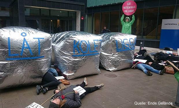 Proteste gegen Verkauf der Braunkohlesparte