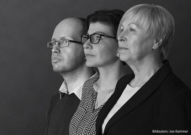 Das Damago-Team in Cottbus (v.l.n.r.): Mario Scheller (IT-Trainer), Katrin Kretzschmer (Bildungsberaterin), Angelika Fechner (Geschäftsstellenleiterin). Unterstützt wird das Team von freien Trainern und Dozenten.