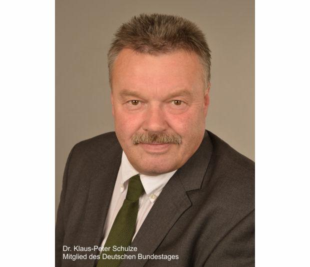 Klaus-Peter Schulze, Bundestagsabgeordneter der CDU/CSU-Fraktion