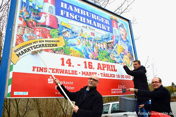 Hamburger Fischmarkt in Finsterwalde