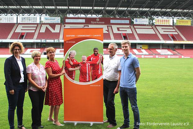 Förderverein Lausitz steht zum FC Energie!