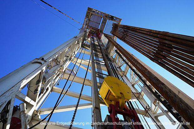 Erdgasförderung im Landschaftsschutzgebiet Dahme-Heideseen