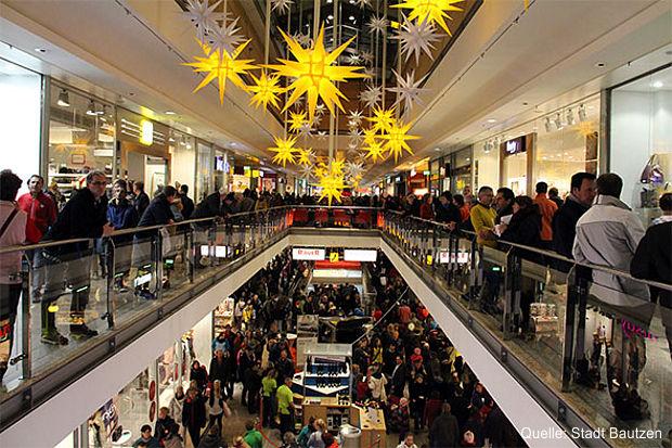 Weihnachtsshopping in Bautzen