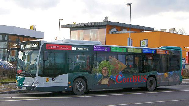 CottBUS Marketingaktion in Potsdam
