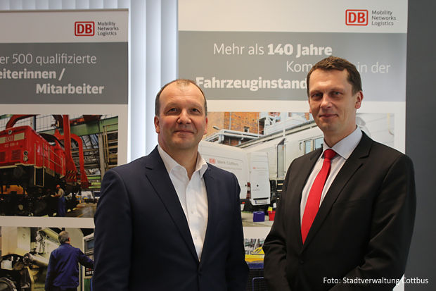 Stabilisierung des Bahnwerkes Cottbus gefordert