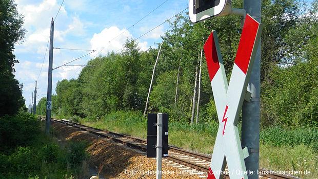 zweigleisige Ausbau der Strecke Cottbus - Lübbenau