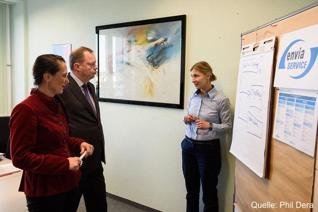 Besuch am RWE Standort Cottbus