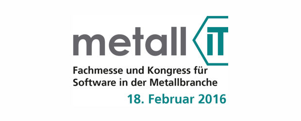 metall IT - Fachmesse und Kongress in Berlin