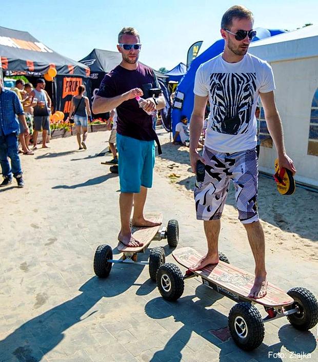 Elektro-Skateboards Teslaboards