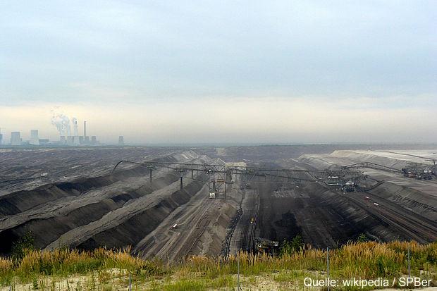 Tagebau Nochten im Lausitzer Revier