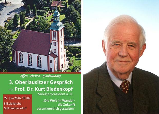 Oberlausitzer Gespräch mit Prof. Dr. Kurt Biedenkopf