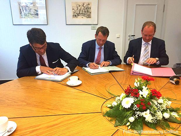 Cottbus schliesst neue Konzessionsverträge ab