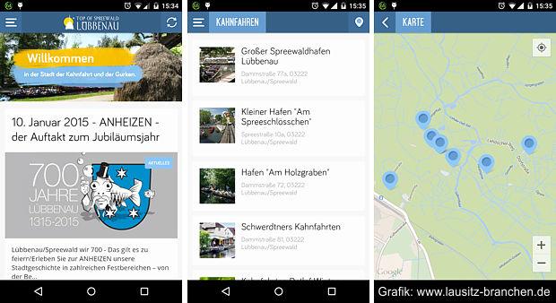 Lübbenau-App nun auch in Englisch
