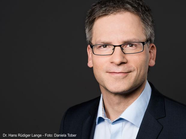 Dr. Hans Rüdiger Lange, Geschäftsführer der Innovationsregion Lausitz GmbH