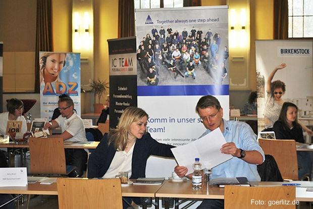 600 Kennenlern-Gespräche beim Job-Speed-Dating in Görlitz
