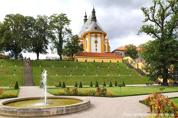 Klostergarten in Neuzelle