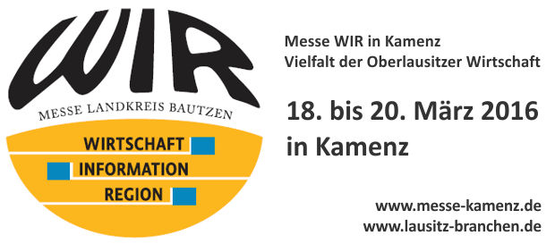 Messe WIR 2016 in Kamenz