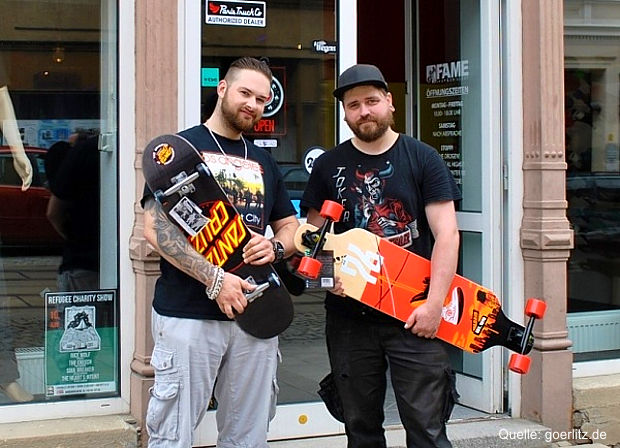 Graffiti- und Skateshop in Görlitz eröffnet