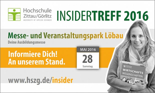 INSIDERTREFF: Ausbildungsmesse am 28. Mai in Löbau