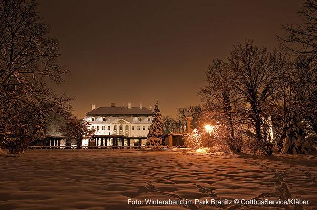 Branitzer Park Weihnacht