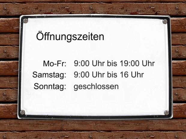 Sonntagsöffnung in Brandenburg