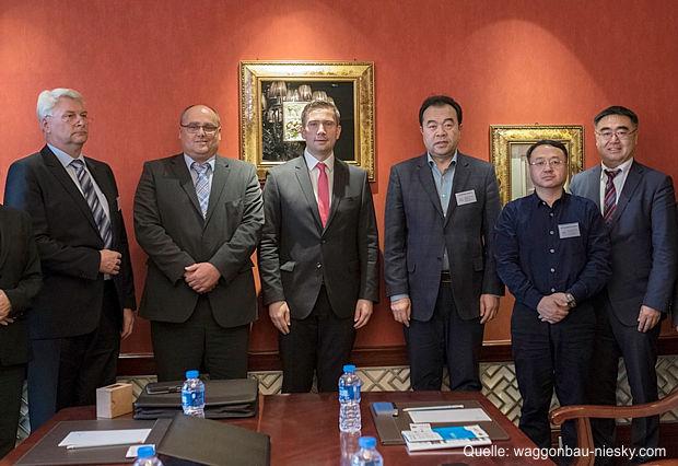WBN Waggonbau Niesky GmbH zu Gast in China