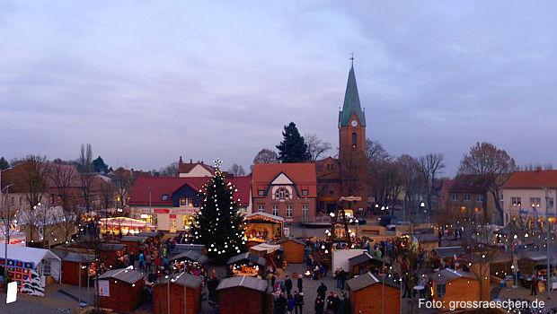 Weihnachtsmarkt Großräschen