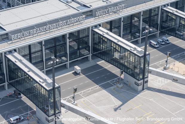 Foto Günter Wicker / Flughafen Berlin Brandenburg GmbH