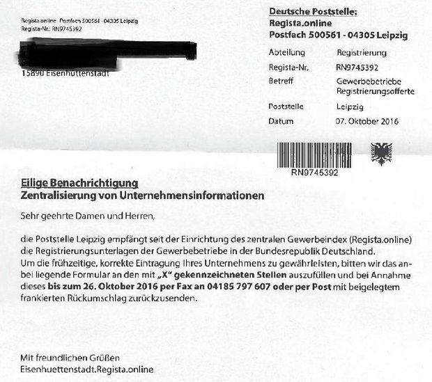Vorsicht Abzocke! Eisenhüttenstadt Regista online