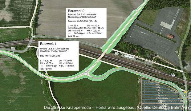 Endspurt beim Ausbau der Strecke zwischen Horka und der Neißebrücke