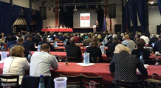 Mitgliederversammlung der AGEG am 22.09.2016 in der Landskron Kulturbrauerei in Görlitz/Euroregion Spree-Neiße-Bober e.V.