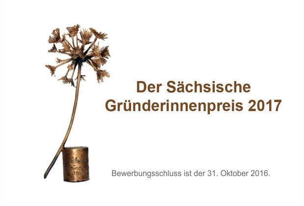 Sächsischer Gründerinnenpreis 2017