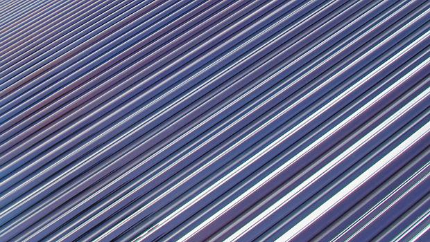 Solarthermieanlage im Großformat geht in Betrieb