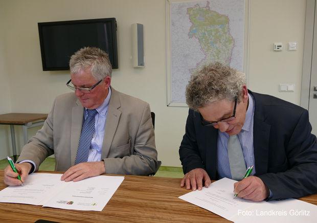 Kooperationsvertrag zwischen Hochschule Zittau/Görlitz und Landkreis Görlitz