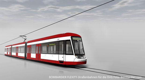 FLEXITY-Straßenbahnen