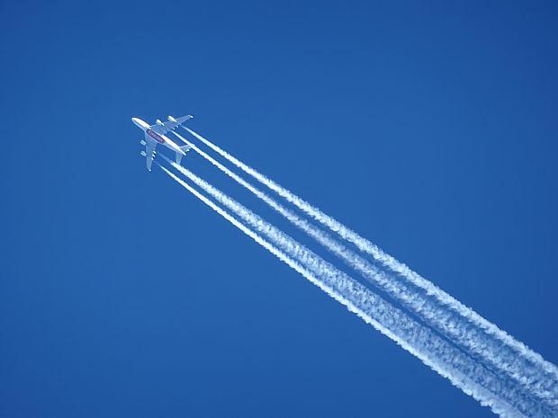 Durch Luftfahrt verursachte Klimaschäden