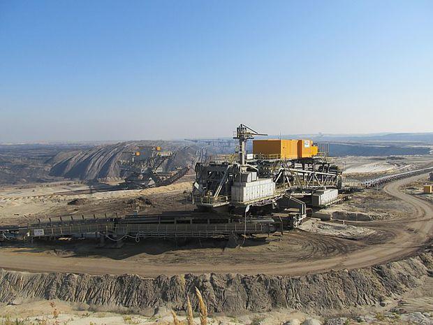 Tagebau Welzow in der Niederlausitz