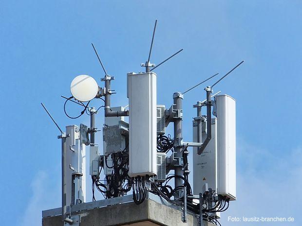 LTE-Sendestation am Quitzdorfer See