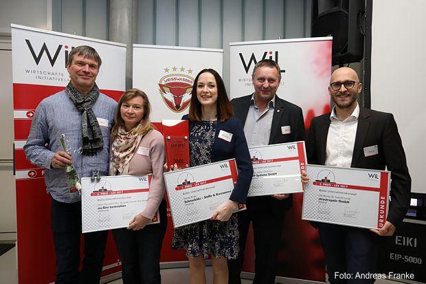 Preisträger des Lausitzer Existenzgründer Wettbewerbes (LEX) 2017