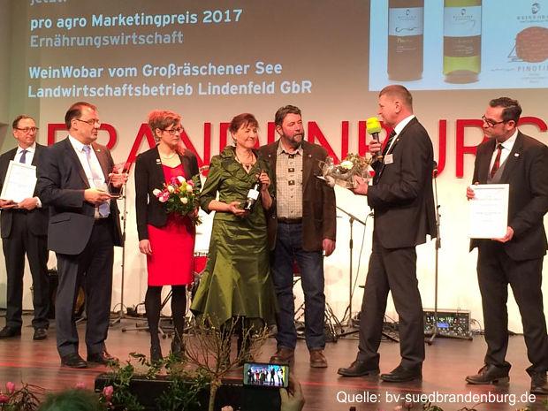 1. Platz an Winzer WeinWobar vom Großräschener See