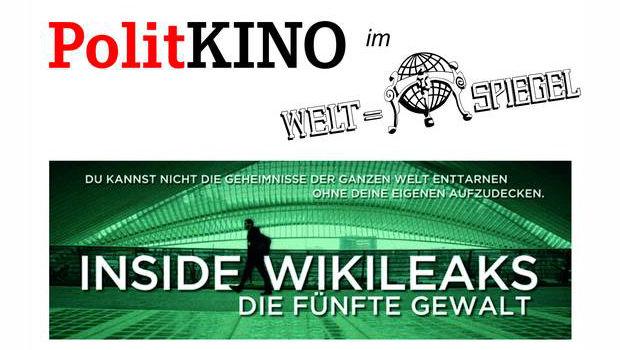 Inside Wikileaks - Politkino in Cottbus