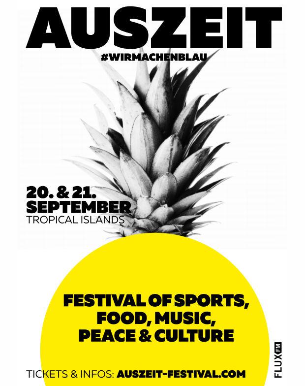 AUSZEIT-Festival bei TROPICAL ISLANDS
