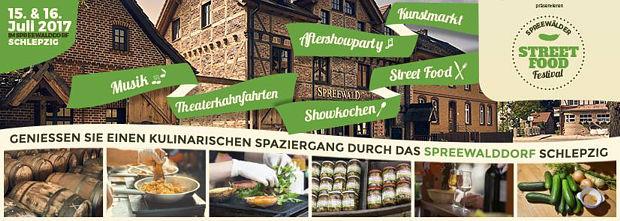 1. Spreewälder Street Food Festival in Schlepzig