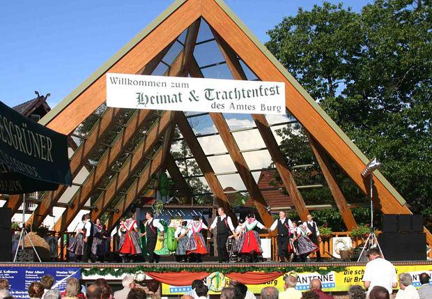 Heimat- und Trachtenfest des Amtes Burg (Spreewald)