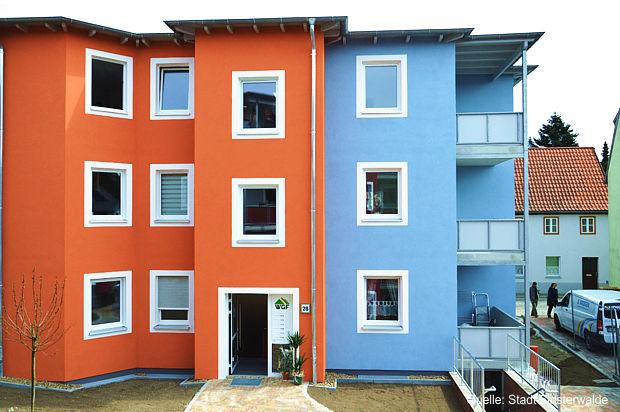 Neubau des Mehrfamilienwohnhauses in Finsterwalde