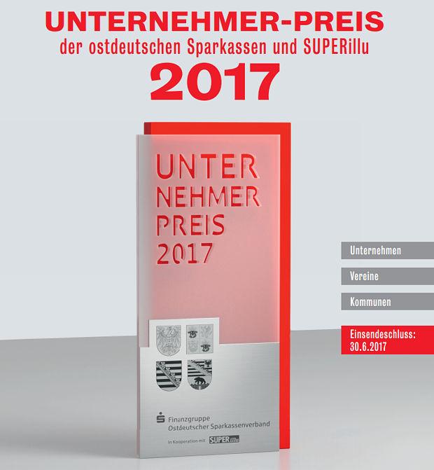 Unternehmer-Preis des Ostdeutschen Sparkassenverbandeshttps://www.lausitz-branchen.de/medienarchiv/cms/upload/2017/mai/Unternehmer-Preis-OSV.jpg