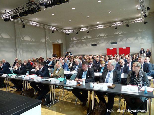 Lausitzkonferenz in Hoyerswerda