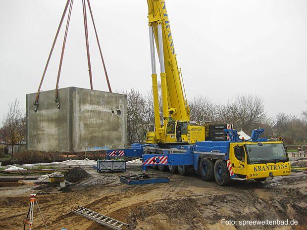 25 Tonnen-Schacht für Wassertechnik