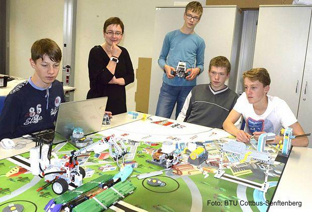 Vorbereitung auf die FIRST LEGO League