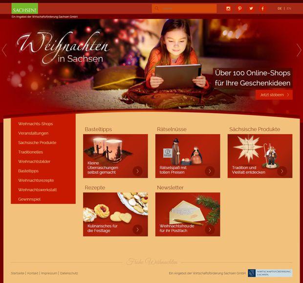 Online-Weihnachtsmarkt www.weihnachtsfreu.de.